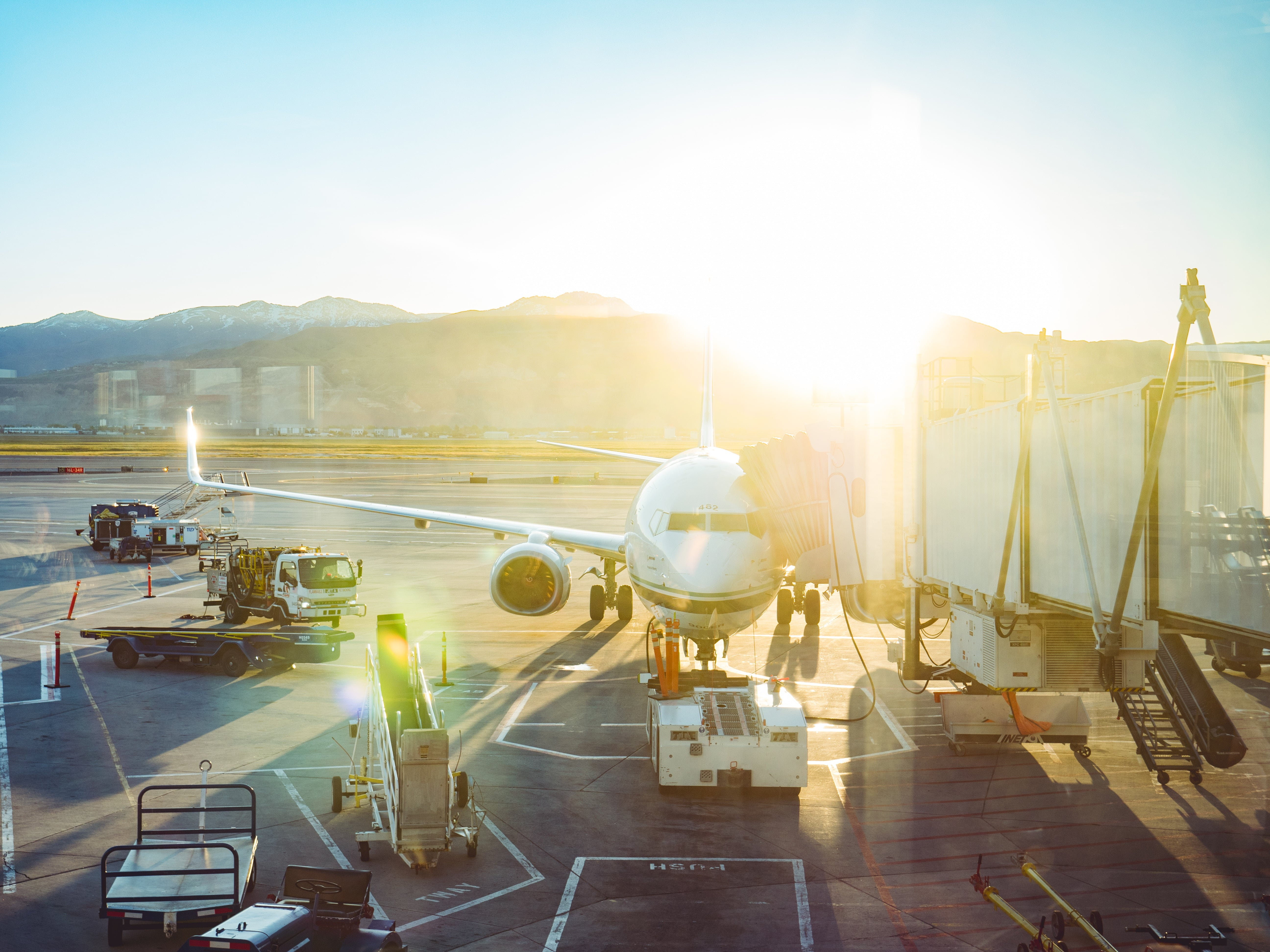 Luchthaven vervoer
