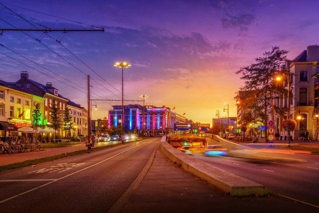 Foto binnenstad Arnhem - Studentchauffeur Arnhem