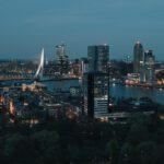 Skyline rotterdam - Studentchauffeur Rotterdam