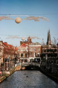 Stad Delft winter - Studentchauffeur Delft